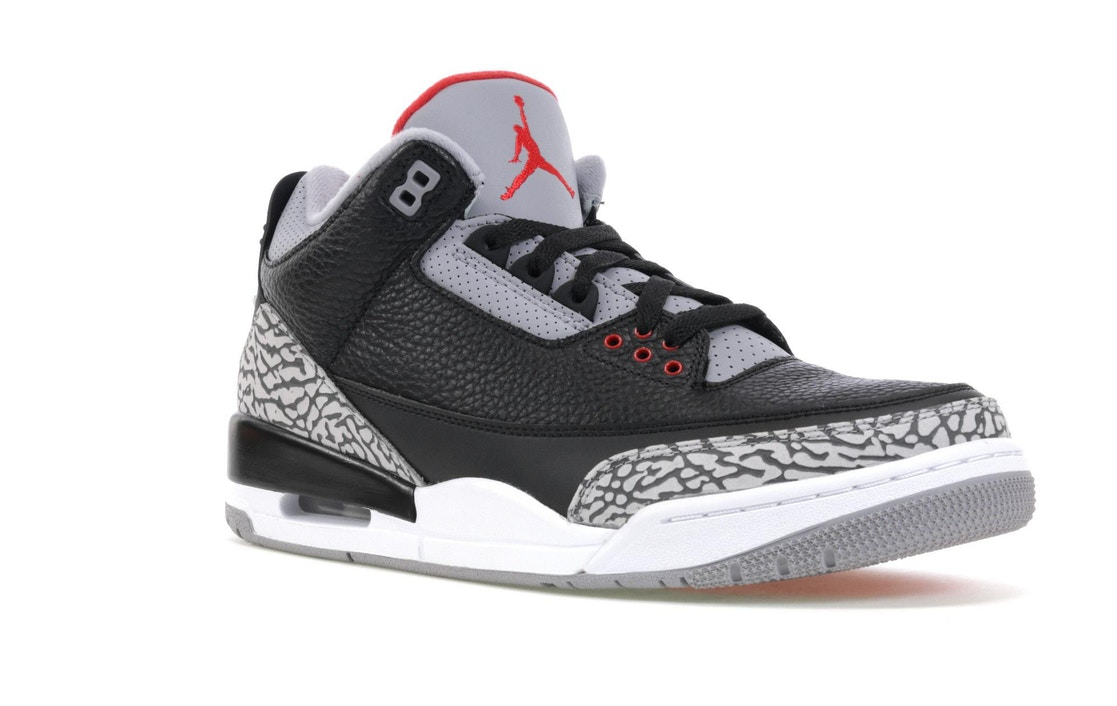 competitive price a200a 44f6e JORDAN 3 RETRO BLACK CEMENT (2018)